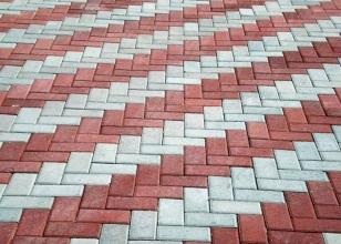 Геометрическая укладка тротуарной плитки